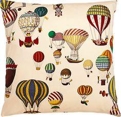 Fabric Design Balloons Pillow - - Barneys.com
