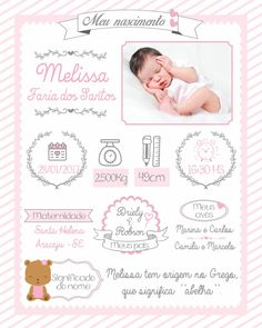 Designer Baby, Baby Pictures, Baby Photos, Baby Girl Birth Announcement, Baby Posters, Baby Frame, Baby Journal, Baby Memories, Baby Album