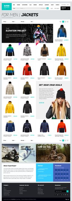 Super Duper amazing theme. 150PSD only $12 by HEZY TEAM, via Behance
