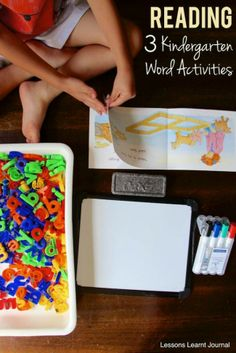 Reading, and learning to read is a huge part of Kindergarten. How To Support Your Child's Reading At Home with 3 word activities. Working with unknown words; known words and new letter combinations. Short, useful learning activities via Lessons Learnt Journal.