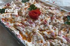 Erişteli Tavuk Salatası Tarifi