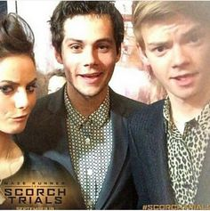 Thomas, Dylan, and Kaya in NYC! Friendship goals