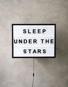 BXXLGHT - SLEEP UNDER THE STARS - LARGE