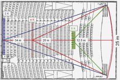 Auditorium Seating Design Standards <b>auditorium design</b> pdf dromhcf. Auditorium Design, Auditorium Plan, Auditorium Architecture, Theatre Architecture, Auditorium Seating, Architecture Concept Diagram, Architecture Plan, Bloc Autocad, Restaurant Floor Plan