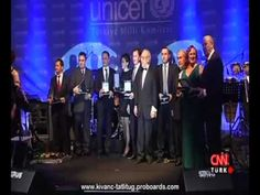 Kıvanç Tatlıtuğ in UNICEF Event  CNN TURK Report  - November 20th 2012