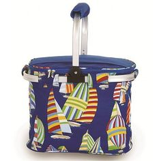 Picnic Plus PSM-148RG Shelby Collapsible Tote in Regatta