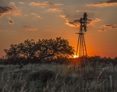 Sunset Behind Old Windmill 1 by Susan Lugar Oliver on 500px