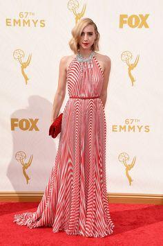 Zoe Kazan en Miu Miu Emmy awards 2015  #mode #fashion