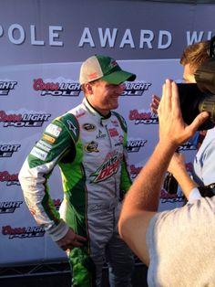 PHOTOS (Sept. 7, 2012): Earnhardt wins pole at Richmond. More: http://www.hendrickmotorsports.com/news/photos/2012/09/07/Earnhardt-wins-pole-at-Richmond#.