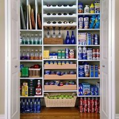 Merveilleux DIY Projects And Ideas For The Home | Storage Ideas, Pantry And Organizing