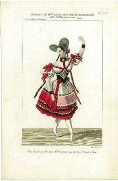 Costume de Melle Taglioni, rôle de Nathalie dans la pièce de ce nom, ballet, Académie royale de musique
