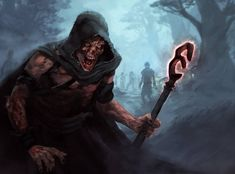 Zombiemancer by shurita on DeviantArt Fantasy Images, Fantasy Art, Necromancer, Dungeons And Dragons, Character Art, Game Of Thrones Characters, Deviantart, Fictional Characters, Story Prompts