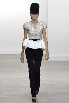 Balenciaga Fall 2006 Ready-to-Wear Fashion Show - Izabel Goulart (Women)