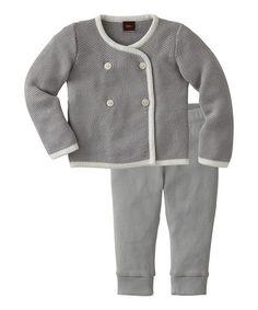 Gravel Keepsake Cardigan & Pants Set - Infant