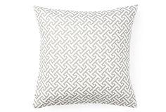 Cross Section Pillow, Gray $59