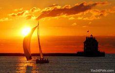Lake Erie sunset!!