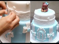 Baby Shower Cake. How To by Cakes StepbyStep - YouTube