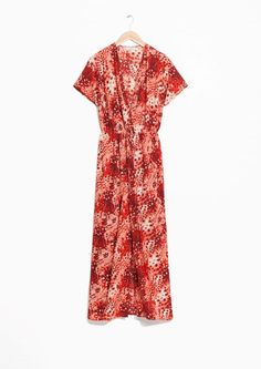 & Other Stories image 2 of Wrap Dress in Print