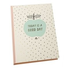 Every day has the potential to be a good day. Put your happiness first and love capturing inspiration, ideas, creativity and more in this beautiful A5 Feature Journal.  #kikkiK #uppsala