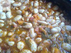 1901201310646 Black Eyed Peas, Greek Recipes, Oatmeal, Beans, Food And Drink, Vegetables, Breakfast, Lenten, Cupcake