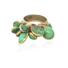 Bohemian 14K Gold Turquoise Ring.  Available on our August 11th, 2014 Online Auction only @ hamptonauction.com. Come preview our catalog!