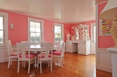 4 pink dining room decor ideas