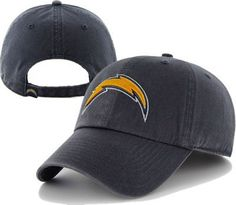 San Diego Chargers Clean Up Adjustable Hat