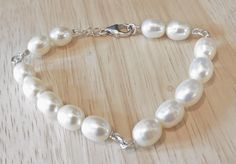 Large Freshwater Pearl Bracelet