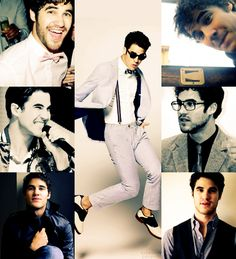Darren Criss<3   So what we have the same last name...i think its very convient;D