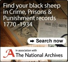 Find Your Black Sheep in New Crime, Prisons and Punishment Records, 1770-1934