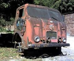 abandoned FNM truck