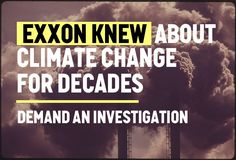 This could be the biggest corporate scandal in history. Join the call to demand investigations into Exxon's lies on climate change.