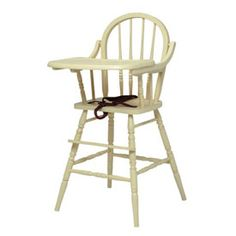 Classic Wooden High Chair Highchairs - aBaby.Com