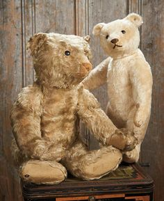 The Blackler Collection (Part 2 of 2-Vol set): 71 German White Mohair Teddy Bear…