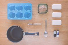 DIY un savon exfoliant pour le corps
