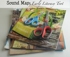 Sound Map: An Early Literacy Tool - collage for the letters C and K - sorting soft C ('sss') sound and the hard K sound.