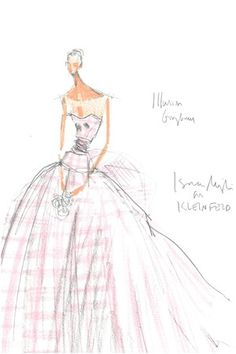 I would love to have an Issac Mizrahi original sketch!  Love!!