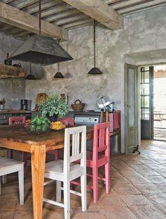 Bakery´s home: Una Cocina Italiana. Rústico, Tradición y Diseño