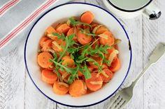 Ensalada de zanahorias - Spicy carrot salad - No quieres caldo?...Pues toma 2 tazas