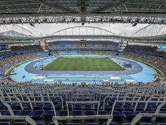 https://flic.kr/p/LNaAju | Estádio do Engenhão, Rio 2016. | Onde as provas de atletismo ocorreram.  Rio de Janeiro, Brasil. Tenham um excelente final de semana. :-)  ________________________________________________  Engenhão Stadium  Where the athletics events occurred.  Rio de Janeiro, Brazil. Have a great weekend ahead! :-D  ________________________________________________  Buy my photos at / Compre minhas fotos na Getty Images  To direct contact me / Para me contactar diretamente…