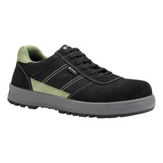 Parade Gamma S1P Metal Free Black and Green Mens Safety Work Trainers b39c5d5f7