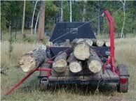 Afbeeldingsresultaat voor small log trailer