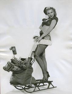Dolores Dorn - 1953 - Merry Xmas