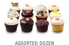 Georgetown Cupcake dozen assorted cupcakes...shipped directly to you from D.C.! #georgetowncupcake