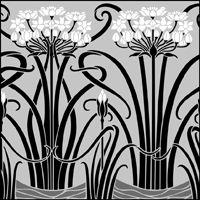 Border No 81 stencil from The Stencil Library ART NOUVEAU range. Stencil Painting On Walls, Stencil Art, Stencil Designs, Painting Patterns, Stenciling, Motifs Art Nouveau, Stencils Online, Deco Paint, Library Art