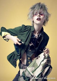 Fashion Portraits by Munenari Maegawa