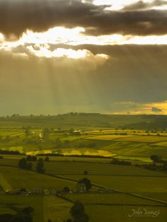 A photograph from close to Cornsay Village, County Durham, North East England