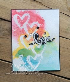 Craft-somnia Momma: Rainbow of Hearts ~ Monday Montage
