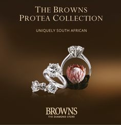 Protea collection / Browns Jewellers | South Africa's Leading Jewellery Store / Browns Jewellers