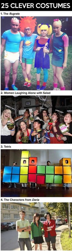Clever Halloween costumes to wear as a group…
